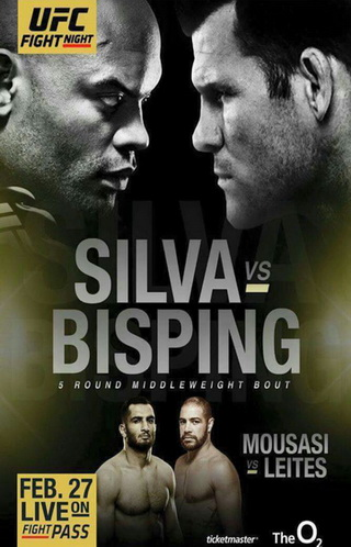 دانلود یو اف سی فایت نایت 84 |  UFC Fight Night 84 : Anderson Silva vs. Michael Bisping
