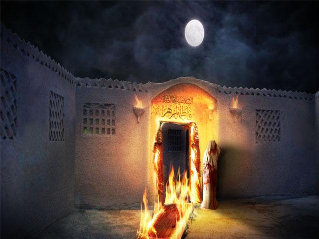 هجوم به خانه ی وحی (2)