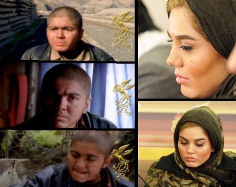 آزاده زارعی در نقش اصغر !! + عکس گریم , اخبار سینما