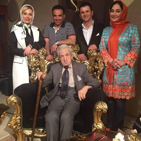 جدیدترین عکس نیوشا ضیغمی در کنار الهام حمیدی , عکس بازیگران