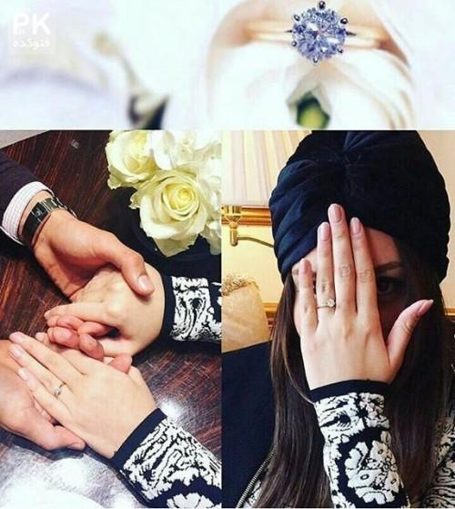 عکس های ازدواج رضا قوچان نژاد با سروین بیات