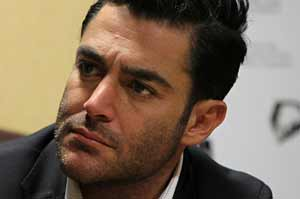 محمدرضا گلزار با ریش و سبیل بلند , عکس بازیگران