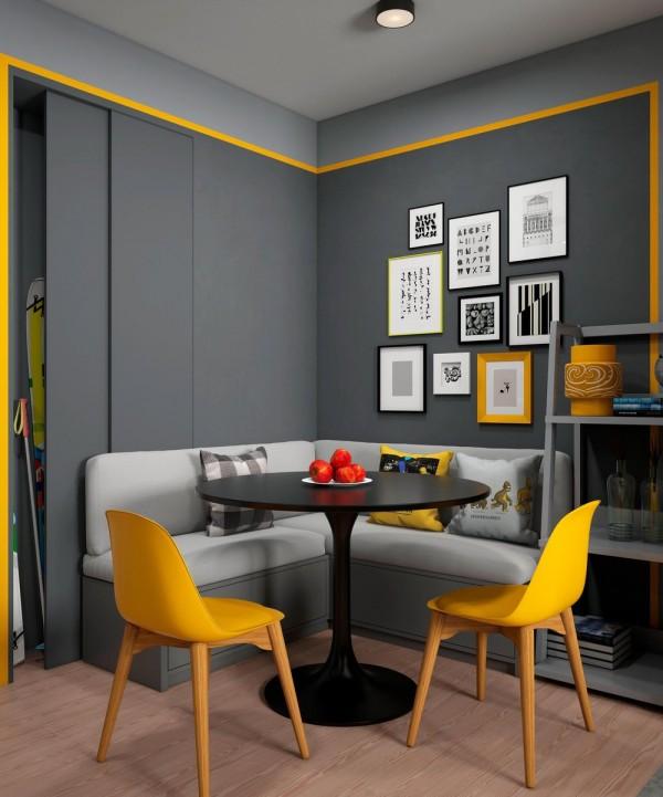 رنگ زرد در دکوراسیون