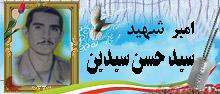 امیر شهید  سید حسن سیدین