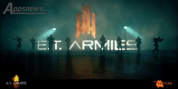 بازی ایرانی ارتش های فرازمینی در استیم عرضه شد