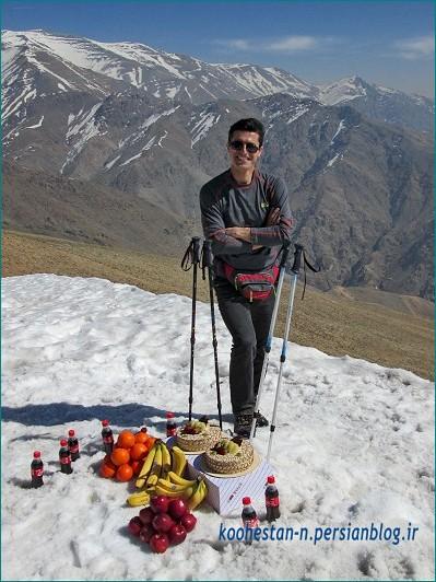 نیما اسماعیلی - قله چین کلاغ
