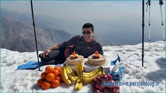 جشن تولد - قله چین کلاغ