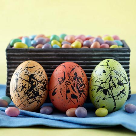 شیک ترین و جدیدترین مدل تزیین تخم مرغ سفره هفت سین 95