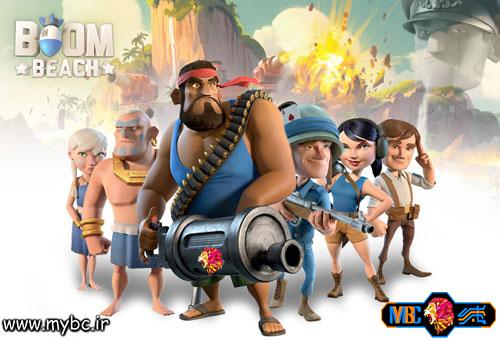 دانلود بازی Boom Beach 24.208 – دانلود بازی بوم بیچ برای اندروید
