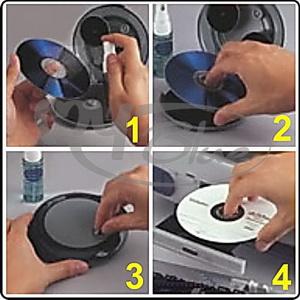 دستگاه خش گیر سی دی CD Clinic