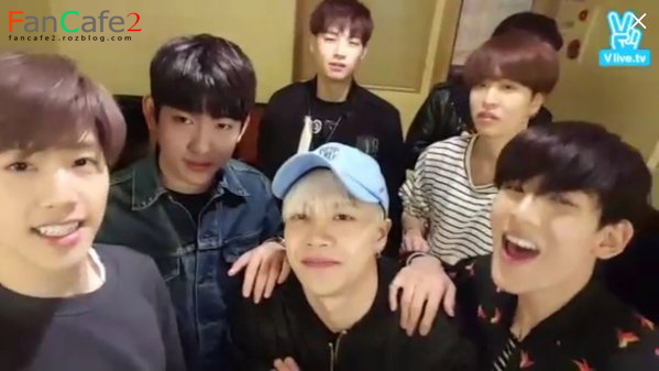 V App [GOT7ing] In The Middle of Singing - GOT7