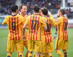 نتیجه بازی بارسلونا رئال سوسیداد شنبه 21 فروردین 95 + خلاصه و گلها