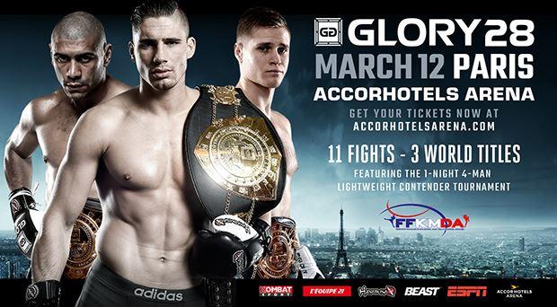 دانــلود مسابقات کیکبوکسینگ گلوری 28 | Glory 28: Paris