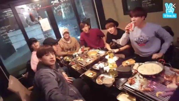 GOT7ing == GOT7's dinner - 160314