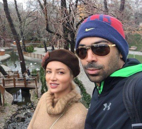 عکس های روناک یونسی و همسرش در خارج از کشور