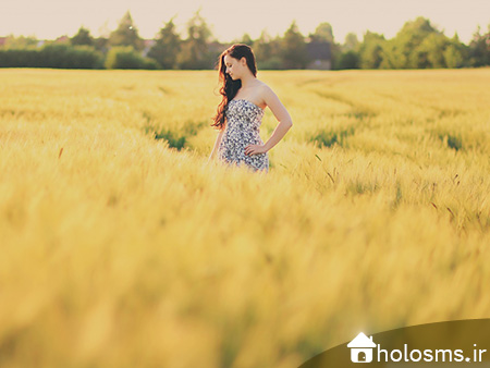 عکس دختر تنها - 3