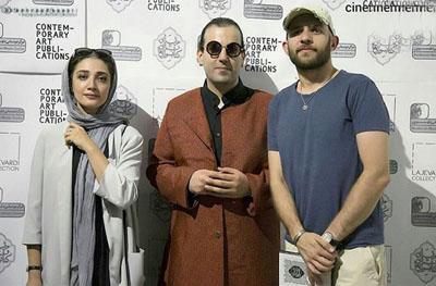 ازدواج بابک حمیدیان و مینا ساداتی +عکس , اخبار سینما