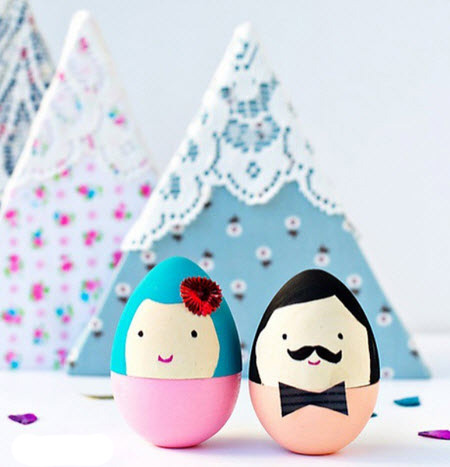 زیباترین و جدیدترین مدلهای تخم مرغ عید با تزیین