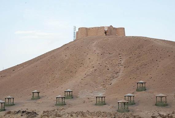 قلعه جلالالدین گرمه برجستهترین قلعه نظامی خراسان شمالی /تصاویر