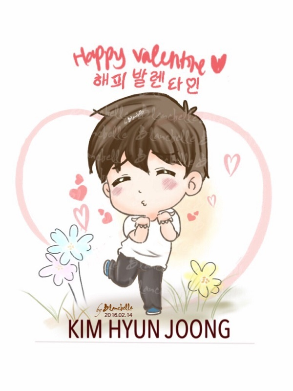 [blancballe Fanart] Kim Hyun Joong - Happy Valentine day [2016.02.14]