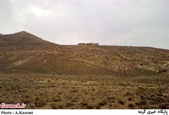 قلعه خداوردی درق نمادی از تمدن کهن شهرستان گرمه / تصاویر