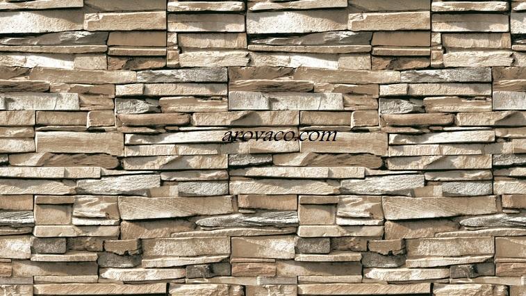 کاغذ دیواری طرح سنگ سه بعدی