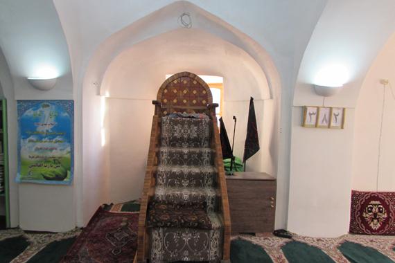 تعطیلات نوروزی با مسجد جامع شهر ایور / تصاویر