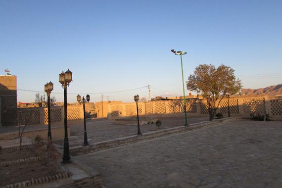 مسجد جامع درق بنایی بجای مانده از دوره صفویه / تصاویر