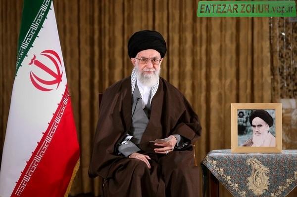 پیام نوروزی رهبر معظم به مناسبت سال ۱۳۹۵ و بیانات در جمع زائران حرم رضوی