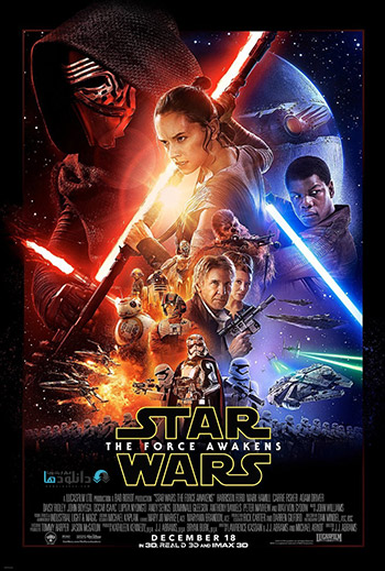 دانلود فیلم جنگ ستارگان 7 Star Wars Episode VII The Force Awakens 2015