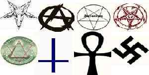 نماد شیطان پرستان
