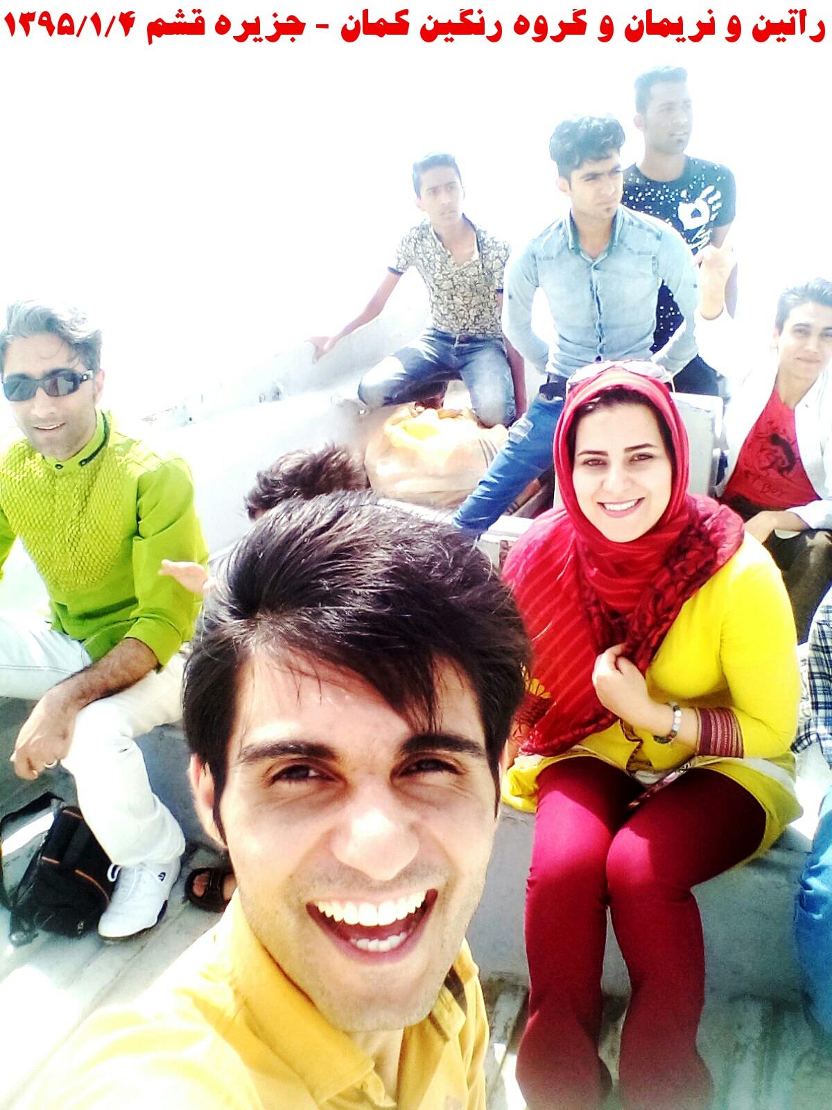راتین و نریمان و گروه رنگین کمان در آبهای خلیج پارس