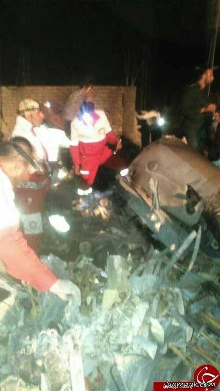 جزییات کامل و دقیق سقوط بالگرد هلال احمر در فارس + اسامی کشته شدگان