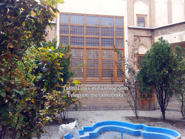 وضع دانشکده معماری تبریز