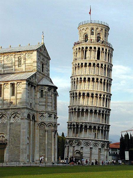 عکس برج پیزا در ایتالیا