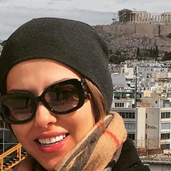 عکس های نوروزی لیلا اوتادی در یونان , عکس های بازیگران