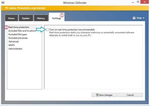 آنتی ویروس Windows Defender , آنتی ویروس پیشفرض Windows Defender , بسته امنیتی Windows Defender , غیر فعال کردن Windows Defender , ویروس کش Windows Defender