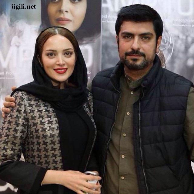 بهنوش طباطبایی در کنار همسرش مهدی پاکدل