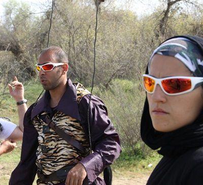 بدلکاران ایرانی|ارشا اقدسی و مهسا احمدی بدلکاران گروه 13