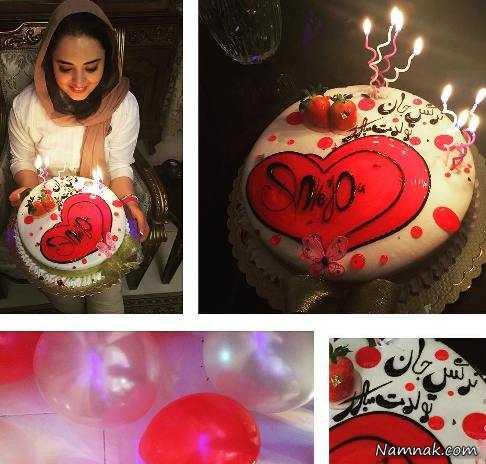 مراسم جشن تولد نرگس محمدی +عکس , چهره های ایرانی
