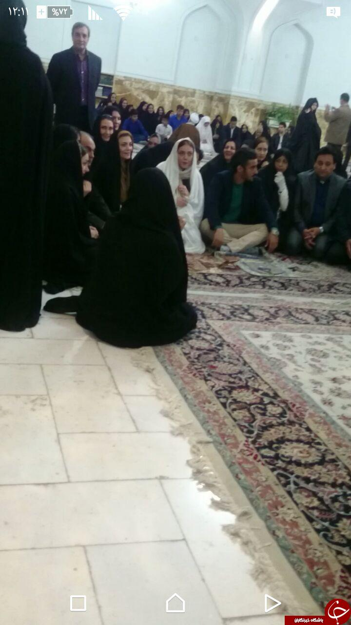 مراسم عقد رضا قوچاننژاد در مشهد حرم امام رضا (ع)+فیلم و عکس