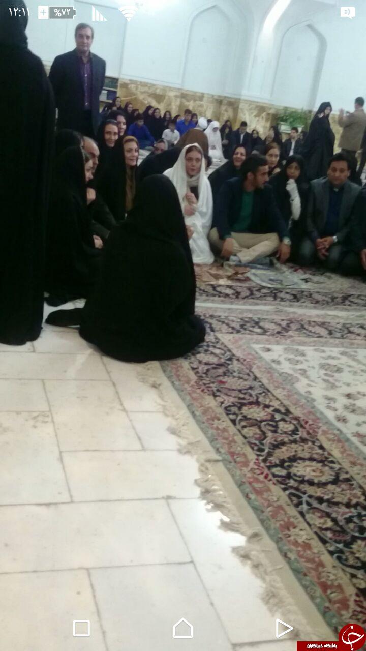 فیلم و عکس مراسم عقد رضا قوچاننژاد در مشهد حرم امام رضا