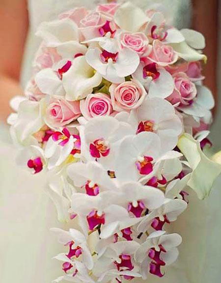 جدیدترین و شیک ترین مدل دسته گل عروس 2016 و 95