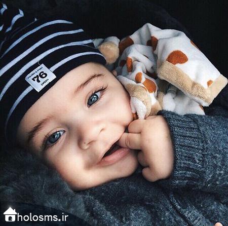 عکس بچه - هلو اس ام اس - 4