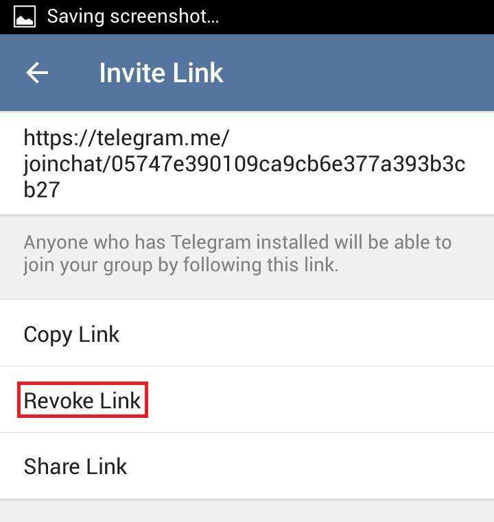 مسدود کردن لینک گروه در تلگرام,تغییر لینک گروه تلگرام,نحوه تغییر لینک گروه تلگرام,بستن گروه در تلگرام,جلوگیری از دعوت به گروه در تلگرام,تغییر لینک کانال تلگرام