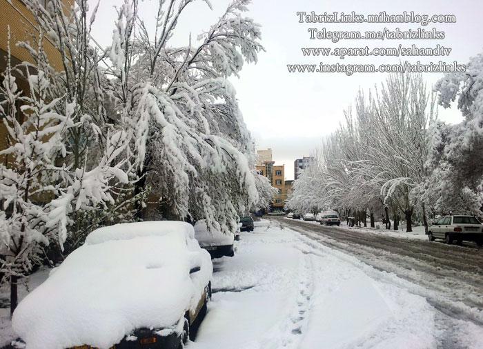 خیابانهای تبریز