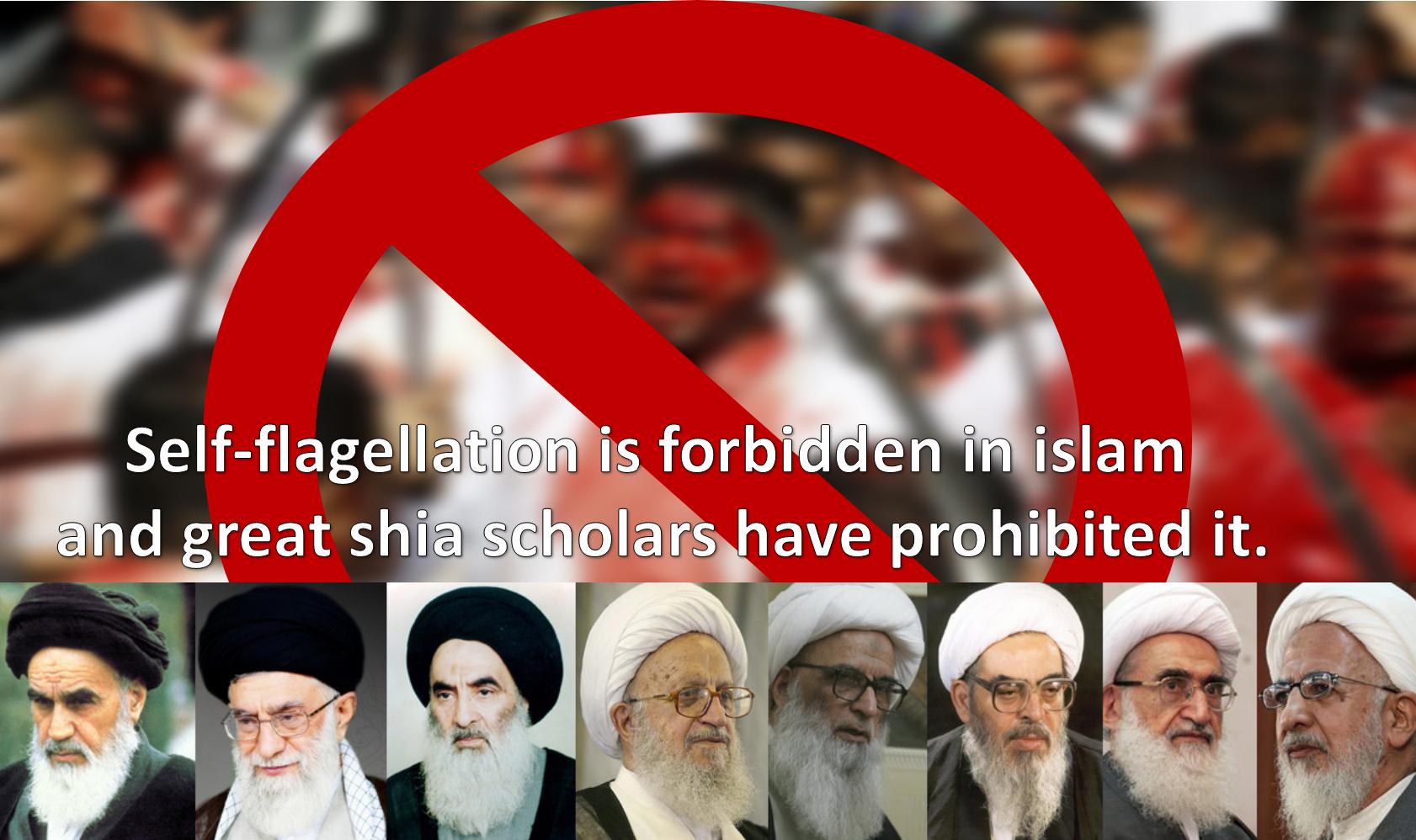 Day of ashura- Ashura self-flagellation is forbidden in Islam