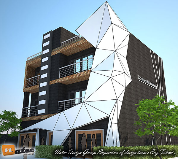 طراحی نمای ساختمان اصفهان