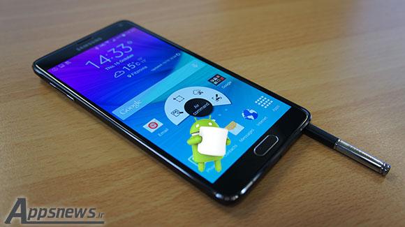 اندروید مارشمالو برای 4 Galaxy Note عرضه شد