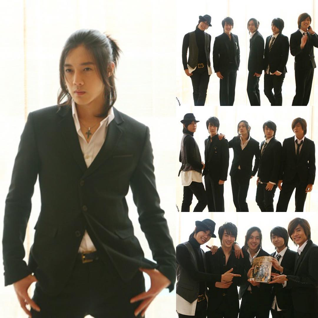 Long Hair and Young Hyun Joong